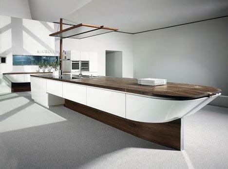 Boat Kitchen by Sleek Unique Crafty Sailboat Shaped Kitchen Built Ins
