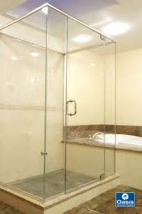 frameless glass shower doors oasis shower doors boston ma