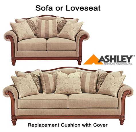 replacement couch cushion covers ashley ashley 174 berwyn view replacement cushion cover 8980338