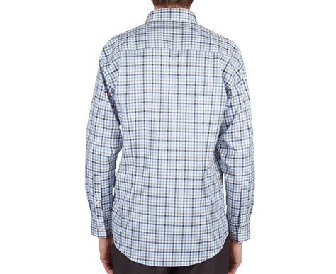 Sleeve Fit Check Shirt calvin klein s sleeve slim fit check shirt