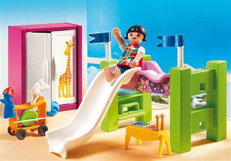 playmobil chambre enfant chambre d enfant avec lit mezzanine 5579 playmobil 174