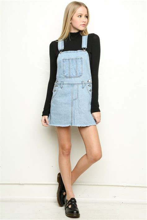 17 best ideas about denim overall dress on