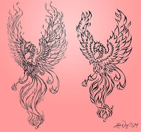 phoenix tattoo art phoenix tattoo 2009 by zachlost on deviantart