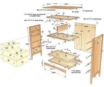 free bedroom furniture plans plans for dresser free woodworking plans and projects