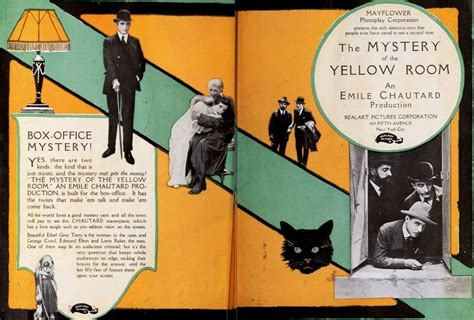 the mystery of the yellow room 1919