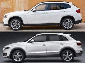 Compare Audi Q3 And Bmw X3 Bmw X1 Vs Audi Q3 Photo Shootout