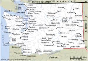 Map Of Washington State Cities And Towns by Washington Cities Map