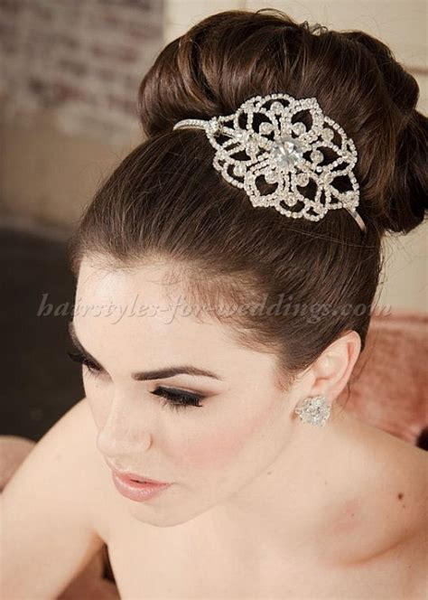 High Hairstyles by Top Bun Wedding Hairstyles High Bun Wedding Hairstyle