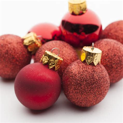 small christmas balls mini ornaments ornaments and winter crafts