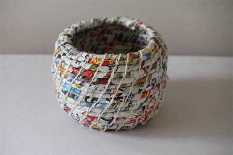 Handmade Things From Waste Material - handmade baskets so pretty you might be surprised what