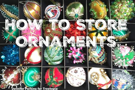 how i store ornaments for 100 christmas trees jennifer