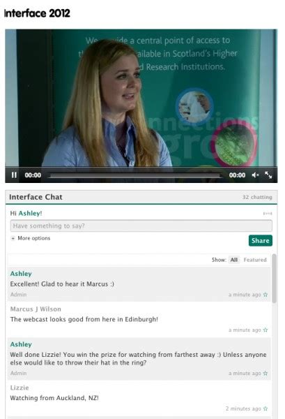 live tv chat room interactive live chat during webcasts and webinars 187 glocast