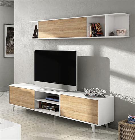 porta tv a muro con mensola parete attrezzata alfa con porta tv e mensola finitura