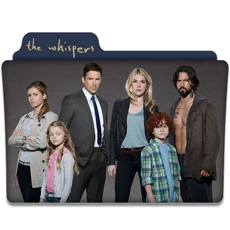 whispers series 1 the whispers tv series folder icon v1 by dyiddo on