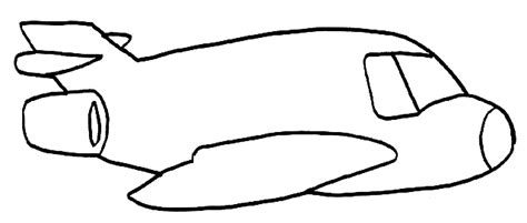 coloring page airplane outline airplane coloring pages for kids bestappsforkids com