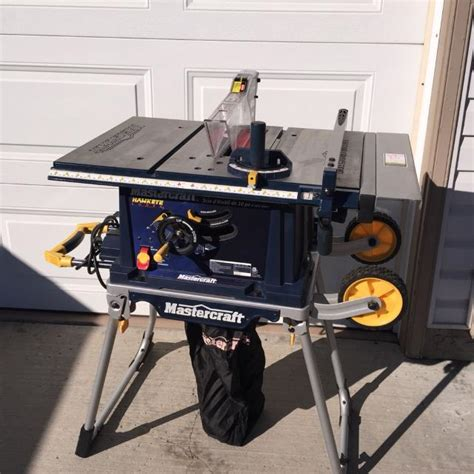 table saw with laser find more mastercraft 10 quot table saw with laser line 130