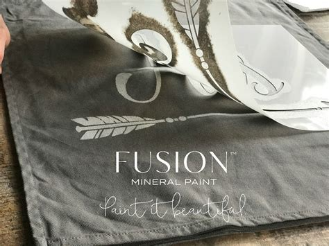 hack and paint ikea hack pillow case fusion mineral paint