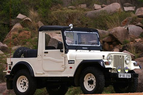 thar jeep white mahindra thar and the drool quotient team bhp