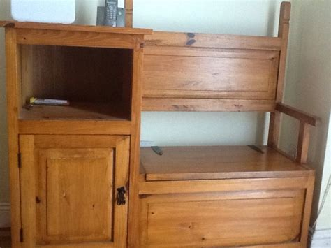 hall bench storage unit hall storage unitbench for sale in bunclody wexford from