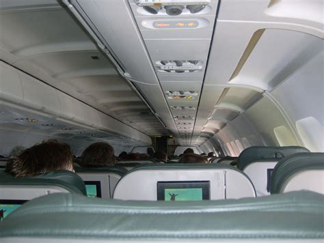 Frontier Airlines Interior file cabin interior of frontier airlines jpg