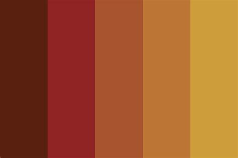 fall color pallette woodsman autumn colour palette color palette