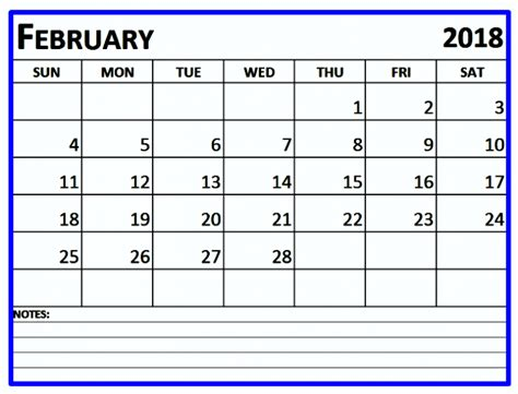 February 2018 Calendar Editable Printable Template Edit Calendar Template 2018