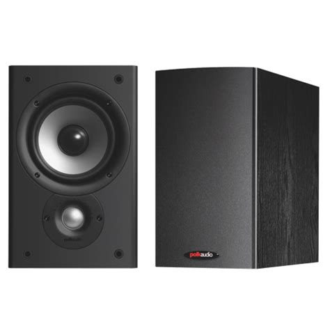 polk audio t300 100 watt bookshelf speakers pair home