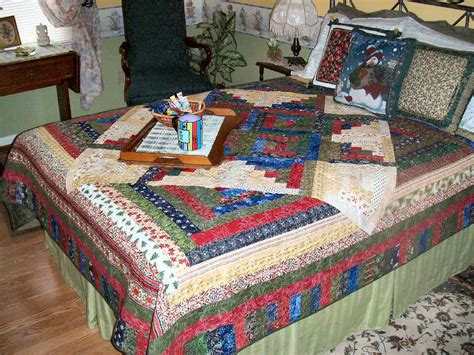 Quilt On Bed by Barb S Quilts Bed Quilts