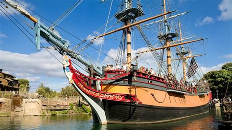 norway to paris by boat sailing ship columbia rides attractions disneyland