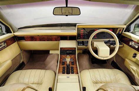 aston martin lagonda interior 1984 aston martin lagonda and 2016 lagonda taraf drive