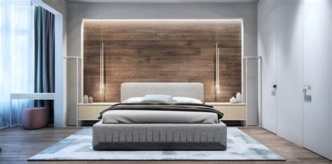 Master Bedroom Accent Wall 2 Luxury Apartment Designs For Couples