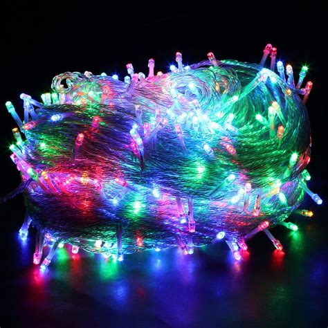 New 50m 400 Led String Fairy Light Ac220v Outdoor Colorful Colorful String Lights