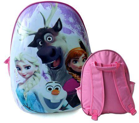 Tas Ransel Frozen Elsa Pink tas telur egg bag tk dan sd toko bunda