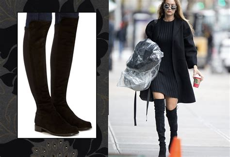 knee high boots without heel dresses with knee high boots as worn by a trend setter