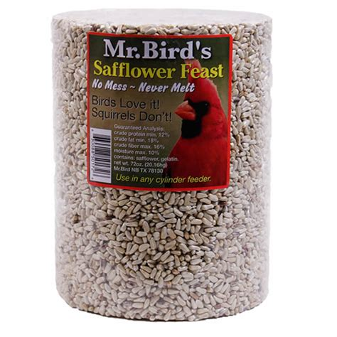 duncraft com mr bird safflower cylinder 72oz