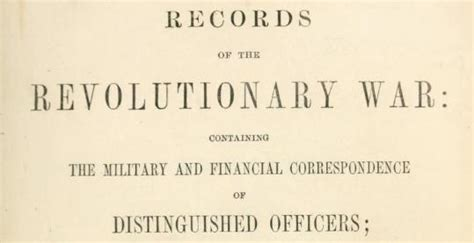 Revolutionary War Records United States Revolution Pensions Ancestry Paths