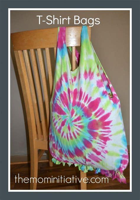 diy t shirt crafts t shirt bags easy to make no sewing diy crafts bags