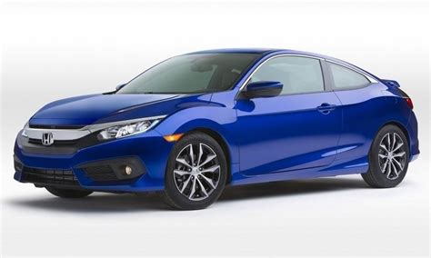 Two Door Honda Civic by New 2016 Honda Civic Coupe Arrives Bigger And Better Than