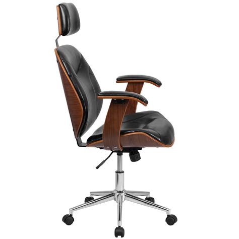 black high  leather chair sd sdm   bk hr gg restaurantfurniturelesscom
