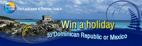 Thomas Cook Competition: Win holidays to Mexico