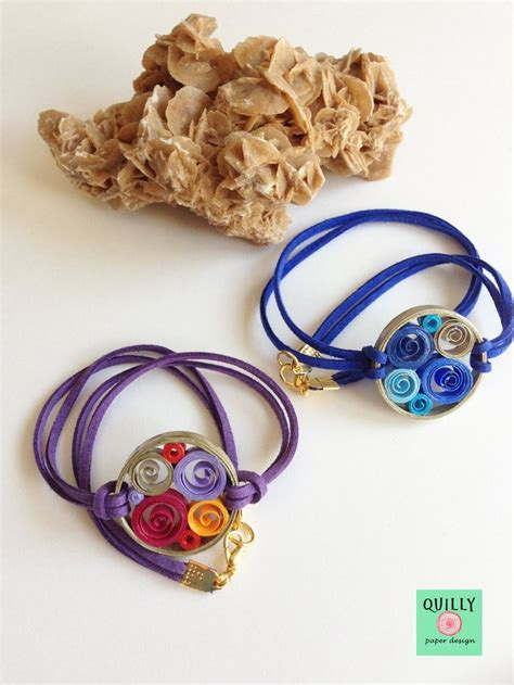 Jewellery With Quilling Paper - 68 best images about bracelets quilling on