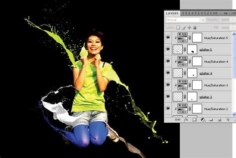 tutorial photoshop cs3 manipulasi fresh colorful photo manipulation dengan photoshop