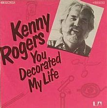 You Decorated Kenny Rogers by You Decorated