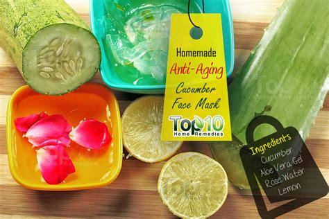 cucumber mask diy diy anti aging cucumber mask page 2 of 2