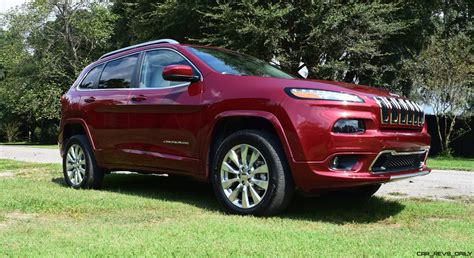 2016 jeep cherokee 2016 jeep cherokee overland 4x4 v6 road test review
