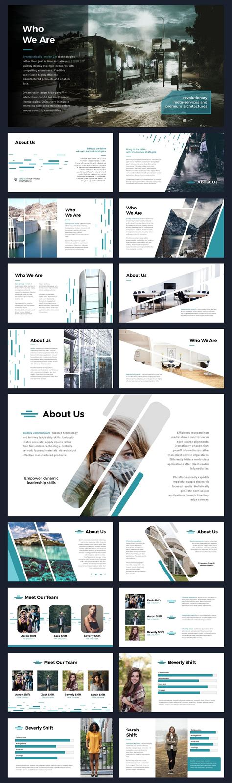 layout design in advertising ppt shift modern powerpoint template by thrivisualy on