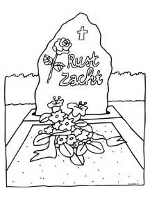 Funeral Coloring Pages sketch template