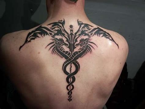 caduceus tattoo for men tattoos for men