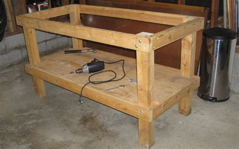 make a work bench the trouble free guide to build a basic workbench clever