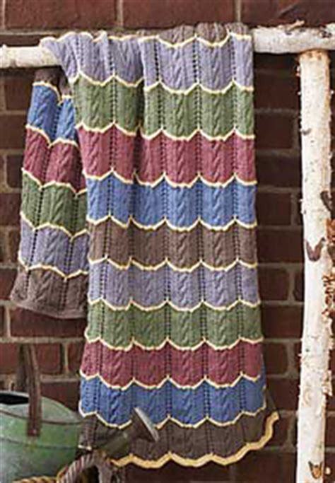 patons pattern library ravelry cable wave blanket pattern by patons